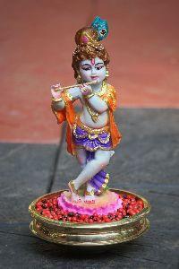Fibre Krishna Statue