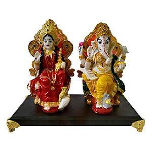 Fibre Laxmi Ganesha Statues