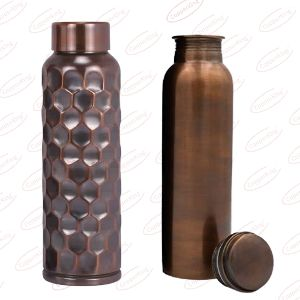 Antique Copper Water Bottle