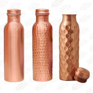 Copper Matte Finish Water Bottle