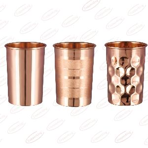 Copper Water Glass