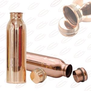 Real Natural Copper Water Bottle