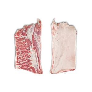 Frozen Pork Belly Bone in Skin On