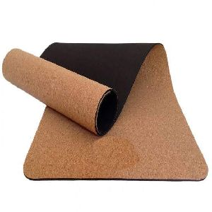 Natural Cork Yoga Mat- Thickness 5mm