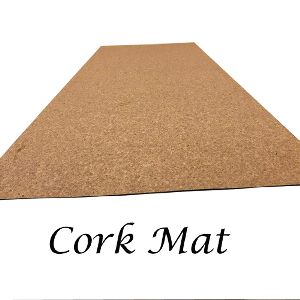 Rubber Cork Yoga Mat- Thickness 2mm