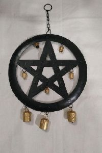Wooden Pentacle Wing Chain