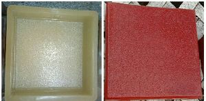 PVC Paver Tile Moulds
