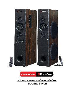 8080BT 2.0 Multimedia Tower Speaker