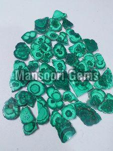 Malachite Slice Stone