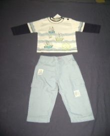 Boys Capri & T-Shirt Set