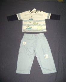 Boys Capri & T-Shirt Set