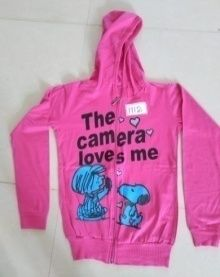 Girls Pink Hoodies
