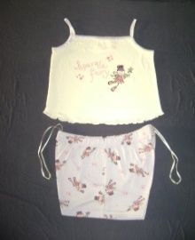 Girls Short & Top Set