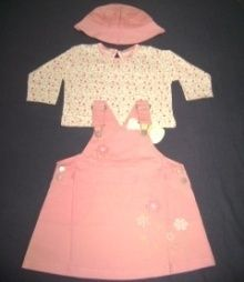Girls Skirt & Top Set