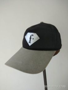 Grey Cotton Cap