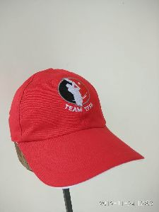 Red Cotton Cap