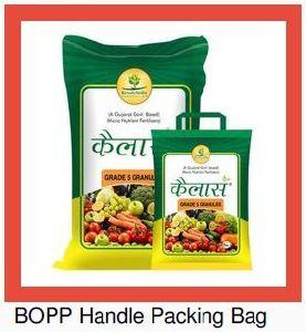 BOPP Handle Bag