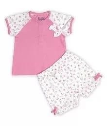 Baby Girl T-Shirt & Shorts Set