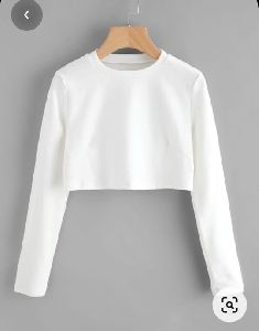 Full Sleeve Crop Top