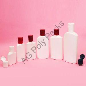 HDPE Flat Bottle