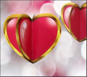 3D Hanging Heart