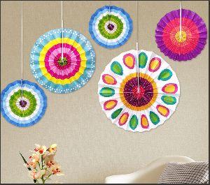 Hanging Paper Fan