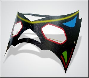 Kick Party Mask