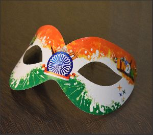 Tiranga Party Mask