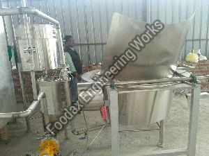 Namkeen Batch Fryer with Inbuilt Heat Exchanger