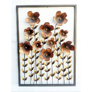 Iron Flower Wall Hanging