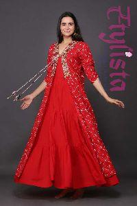 Georgette Tunic Dress