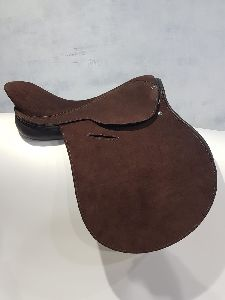 Full Suede Leather Polo Saddle