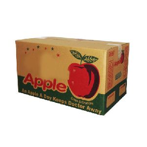 Printed Corrugated Boxes / Apple Packaging Boxes