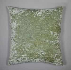 Rayon Crushed Velvet Cushion Cover