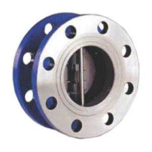 Dual Plate Double Flanged Check Valve
