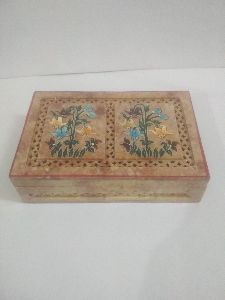 Soap stone painted box