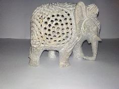 Undercut Elephant Statue