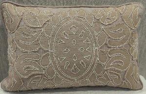 Cotton Slub (H) Brown Cushion Cover