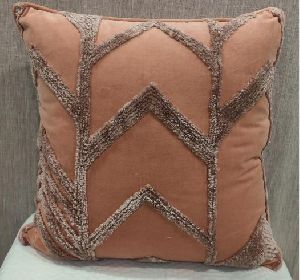 Cotton Velvet Blush Cushion Cover