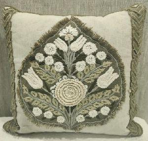 Fauxcl Green Cushion Cover