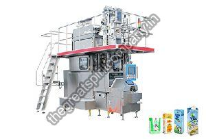 Aseptic Brick Carton Juice Filling Machine Installation