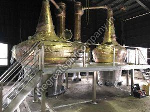 malt spirit distillation plant