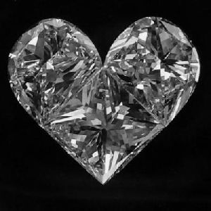 Heart Pie Cut Diamond