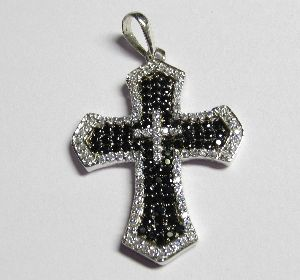 Mens Cross Pendant