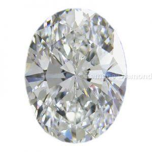 Oval Cut Solitaire Diamond