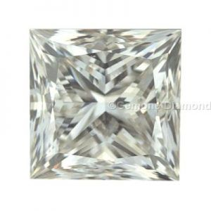 Princess Cut Solitaire Diamond