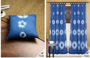 Shibori Cotton Curtain