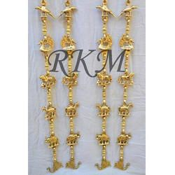 Antique Brass Toy Jhula Chain Set