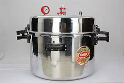 Jumbo Commercial Pressure Cooker 108 Ltr