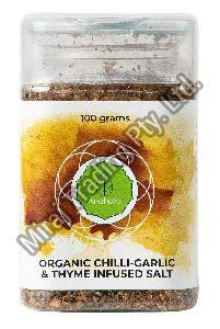Organic Chilli-Garlic and Thyme Infused Salt